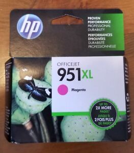 HP Office Ink Jet Cartridge (951 XL Magenta)