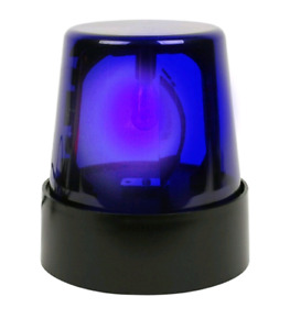 Blue beacon light - party decoration
