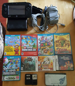Nintendo games and systems for sale