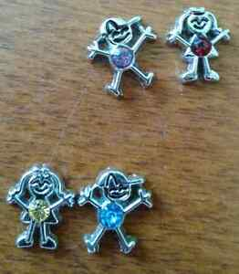 Boy and Girl Birthstone Charms for lockets!