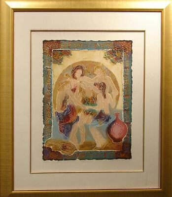 Roy Tonkin Equinox IV framed Serigraph HS SUBMIT YOUR BEST - Equinox Framed