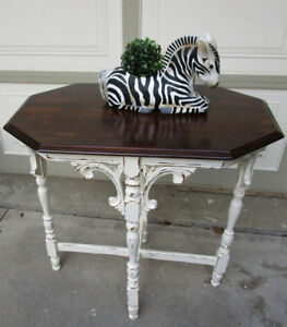 ANTIQUE SHABBY CHIC TABLES