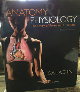 Anatomy & Physiology 7th edition Saladins for Sale