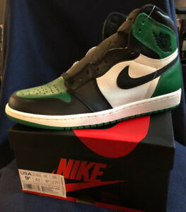 "AIR JORDAN I ""Pine Green"" - DS Size 9.5 - $425"