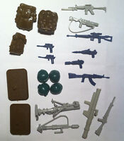 gi joe Battle Gear Accessory Pack 2 & Mortar Defense Unit - 1984