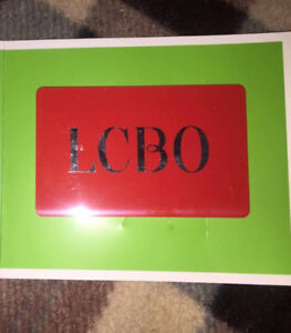 $20 LCBO GIFT CARD