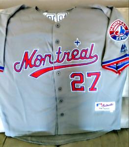 Montreal Expos HOF Vladimir Guerrero Jersey