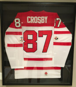 Sydney Crosby autographed Vancouver Olympic Team Canada jersey