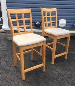 Bar chairs - counter top-  25 inches high