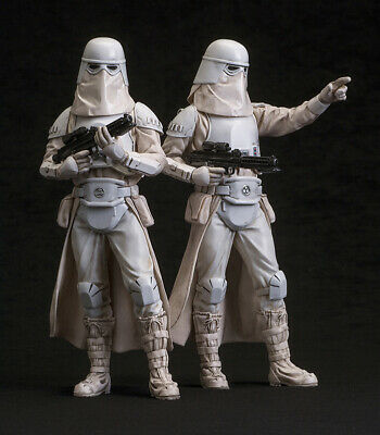 Kotobukiya Star Wars Snowtrooper 1/10 Scale (2 Pack) ARTFX+ Statue