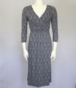 NEW Maeve Black and White Patterned Dress in size MED - $30.00