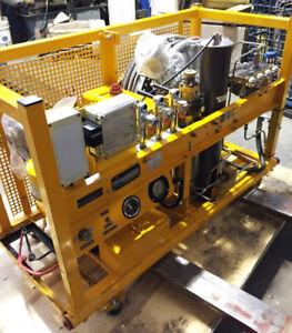 Compresseur Bauer avec filtration pour air de respiration