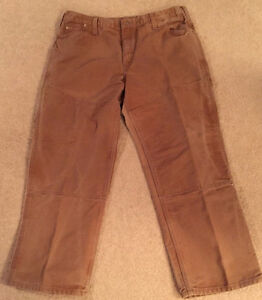 WORK JEANS/CARGO PANT 42 x 32 TOUGH DUCK MENS - MADE IN CANADA!!