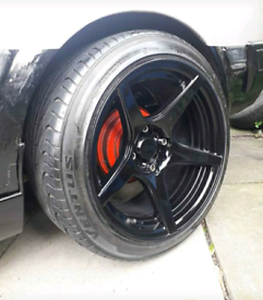 "Xxr racing alloy wheels 16"" 4x114.3 and 4x100 I think"