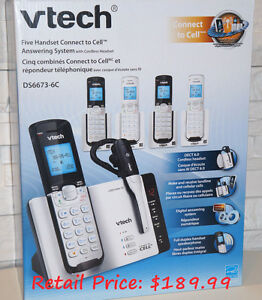 V-Tech Talking Caller ID,Blue-tooth cell connect,&Ear Pc.