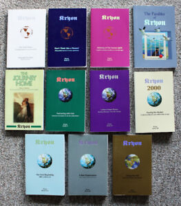 Kryon - books One to Eleven (lot)
