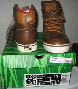 New-in-box-THE HUNDREDS RILEY HIGH top leather shoes 10