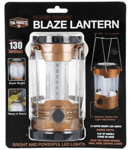 Fine Life Tool Products LED Super Bright 130 Lumens Lantern