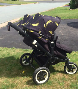 Double or Single Stroller Bugaboo Donkey Duo with Bassinet Seat
