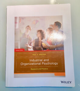 INDUSTRIAL AND ORGANIZATIONAL PSYCHOLOGY  (7e edition)