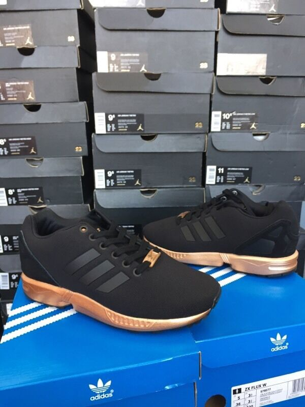 adidas zx flux w noir et bronze