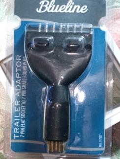 Blue line trailer adaptor 7-pin flat socket | Trailers