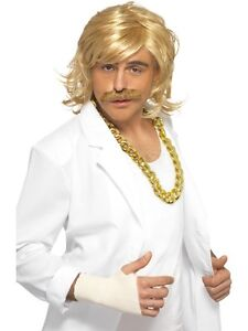 Keith Lemon Fancy Dress - Celebrity Juice - Game Show Host - Blonde Wig Tash