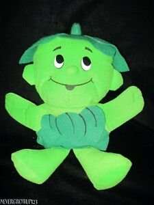 1992-JOLLY-GREEN-GIANT-LITTLE-LIL-SPROUT-STUFFED-PLUSH-HAND-PUPPET-SP-EDITION
