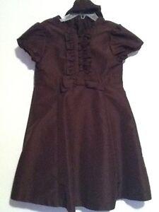 Size 5 Chocolate brown Gap dress