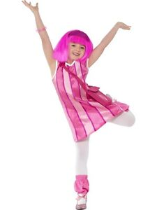 Lazy Town Sportacus Stephanie fancy dress up BNWT 3-9yrs Girls Boys Costume Kids