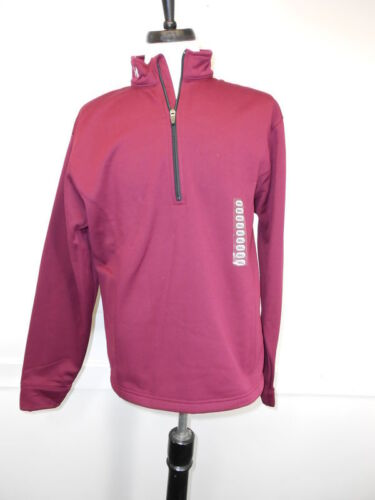 New Under Armour Mens Cold Gear Pullover Burgundy Beige S M L XL