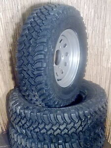 265. 75. 16 KINGPIN ADVANTAGE  MUD Tyres & Wheels x 4
