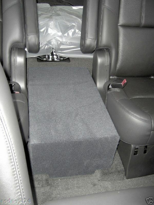 2007 to 2014 Chevy Tahoe Console Subwoofer Enclosure for ...