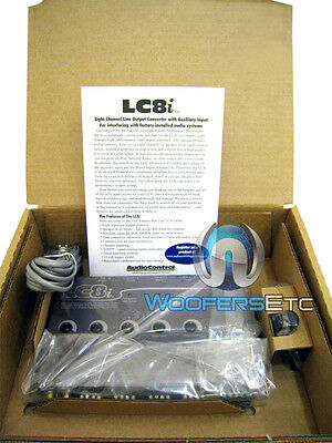 Grey Audiocontrol Lc8i 8 Ch. Line Output Converter Works With Any Factory Stereo on Sale