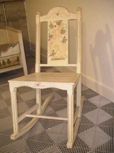 Rocking Chair Maternity Rabbit theme