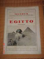 Viaggi Monografia Mundus - Egitto 1960 -  - ebay.it