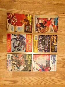 1974-1984 Hockey Digest magazines