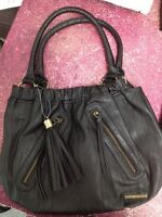 O'Neill black leather purse