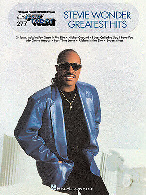 STEVIE WONDER GREATEST HITS EASY PIANO SHEET MUSIC BOOK on Rummage