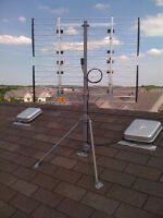 Chimney or Roof Top HDTV (OTA) Antenna PRO Installation
