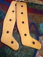 Support a bas en bois antique