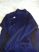 Navy blue adidas jacket MEN