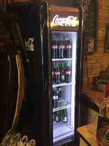 Retro Coke Cooler.  High efficiency.