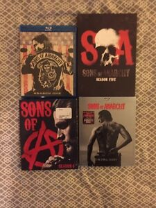 SONS OF ANARCHY ET WALKING DEAD quick sale 100$ West Island Greater Montréal image 2