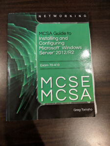 MCSA Guide to Installing and Configuring Microsoft Windows Serve