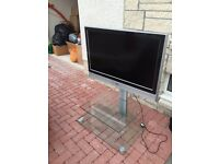 """37"""" lcd TV and stand"""