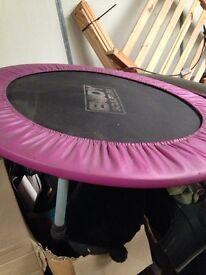 Gym trampoline workout fitness
