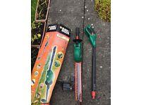 Black and decker hedge trimmer extended pole