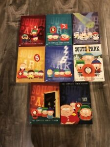8 South Park Seasons on DVD