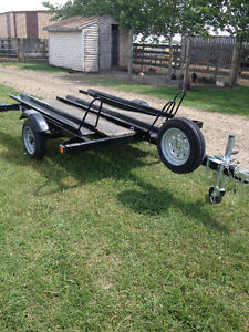 2004 3 Bike Trailer with ramp